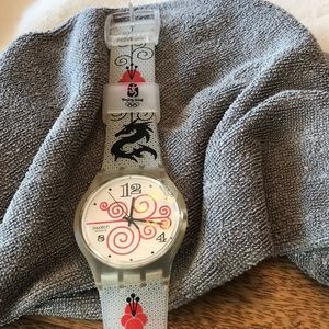 Swatch Olympic watch